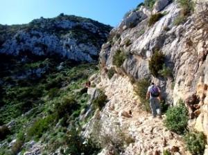 Wandelreis Spanje, wandeling rond peñon Ifach Calpe