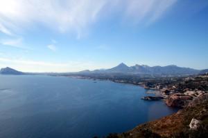 kustlijn van Altea (Alicante)