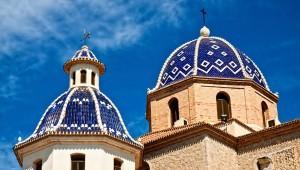 Dorpen aan de Costa Blanca, de kerk van Altea