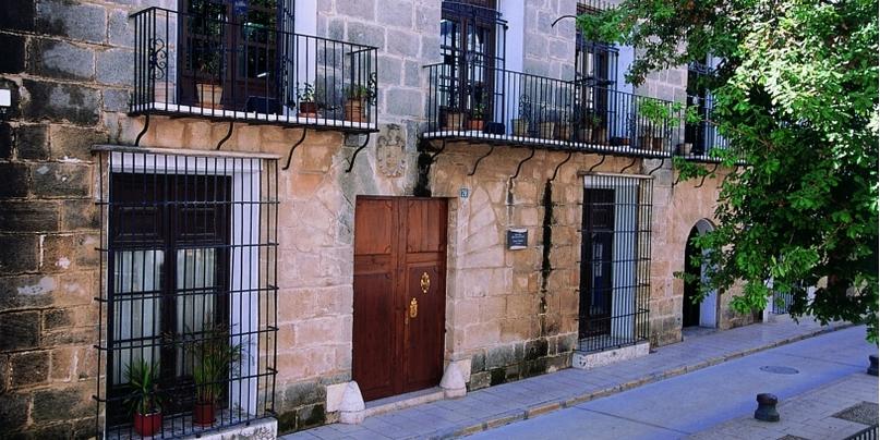 Mooie dorpen Costa Blanca een straatje in Benissa
