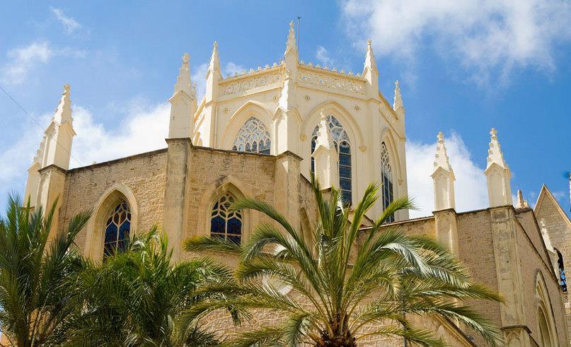 Mooie dorpen costa blanca Benissa, de kerk