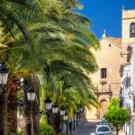 Mooie dorpen costa blanca, een gezellige straat in Benissa