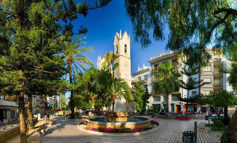 Mooie dorpen Costa Blanca, dorpsfontijn Benissa