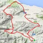 Een leuke route tijdens je fietsvakantie Spanje Alicante o.a. via Murla en Pego