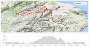 Wielrennen Valencia Benissa Valle d'Ebo