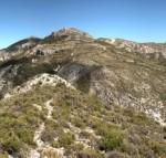 spanje voor wandelaars, bergen rond El castellet