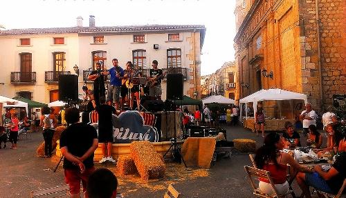 dorpsfeest Jalon, dorpen Alicante