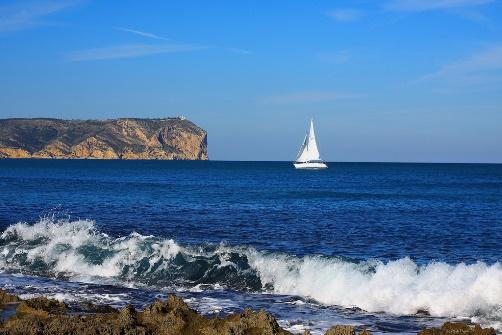 Costa van Javea, zee, zon bergen