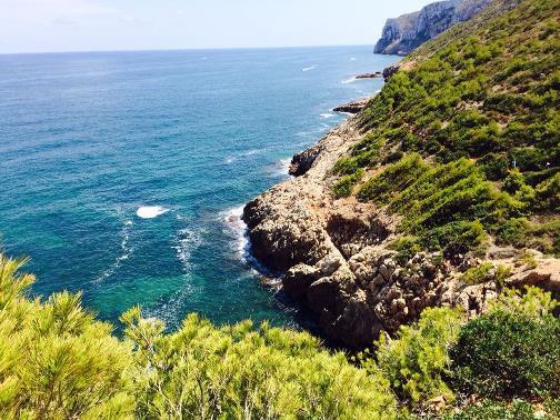 De costa van Javea, dorpen Costa Blanca
