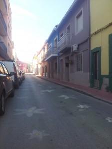 Wandelroutes costa blanca, straatje in Jesus pobre