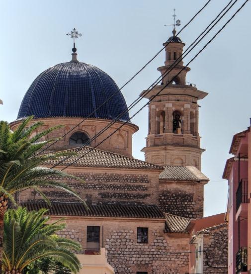 Dorpen Alicante, Jalon de kerk