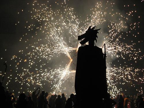 Dorpen in Spanje, Gata de Gorgos fiestas Correfoc