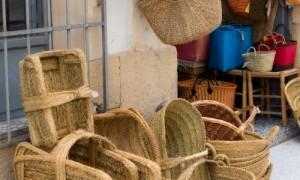 Dorpen in Spanje een een beeld van handwerk