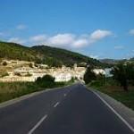 Het startpunt, het dorpje Lliber bij bergwandelen Alicante