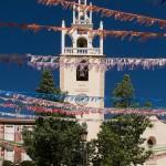De kerk van Parcent in Fiestas