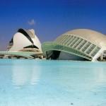 Steden spanje, valencia en Santiago Calatrava