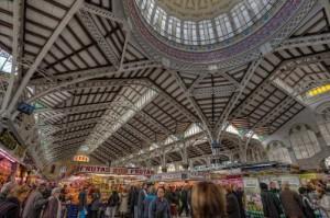 Prachtige markthal Valencia, steden spanje