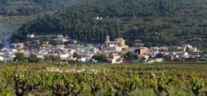 Het dorp Lliber, vogelgebieden Costa Blanca, vall de Lliber