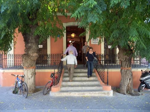 La cooperativa parcent, dorpen provincie Alicante