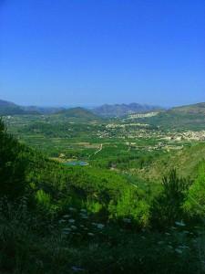 Vogelgebied Costa Blanca, Vall de pop