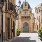 Kerk, Teulada, een van de leuke dorpen in de provincie Alicante