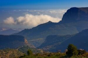 Landschaft Alicante, Glamping Spanien