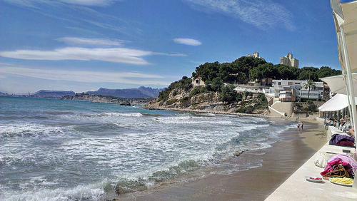 Leuke dorpen Alicante, Moraira het strand van Moraira