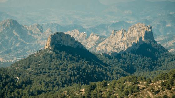Costa Blanca en het binnenland van Alicante