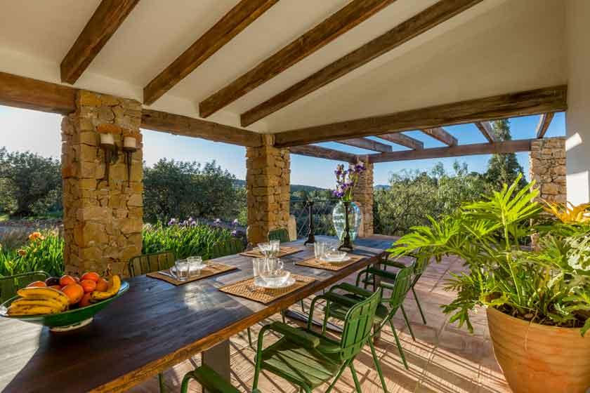 Veranda Finca Iris, vakantiehuis in Spanje