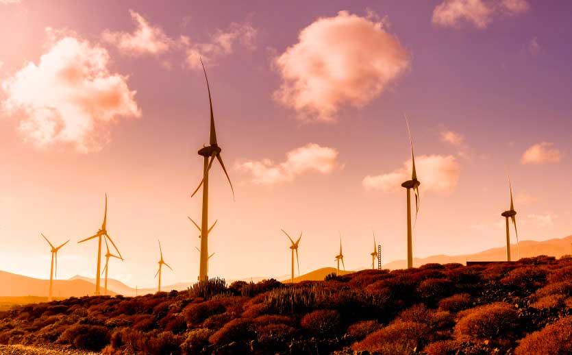 duurzaam tourisme Spanje, windparken maken deel uit van de energiemix