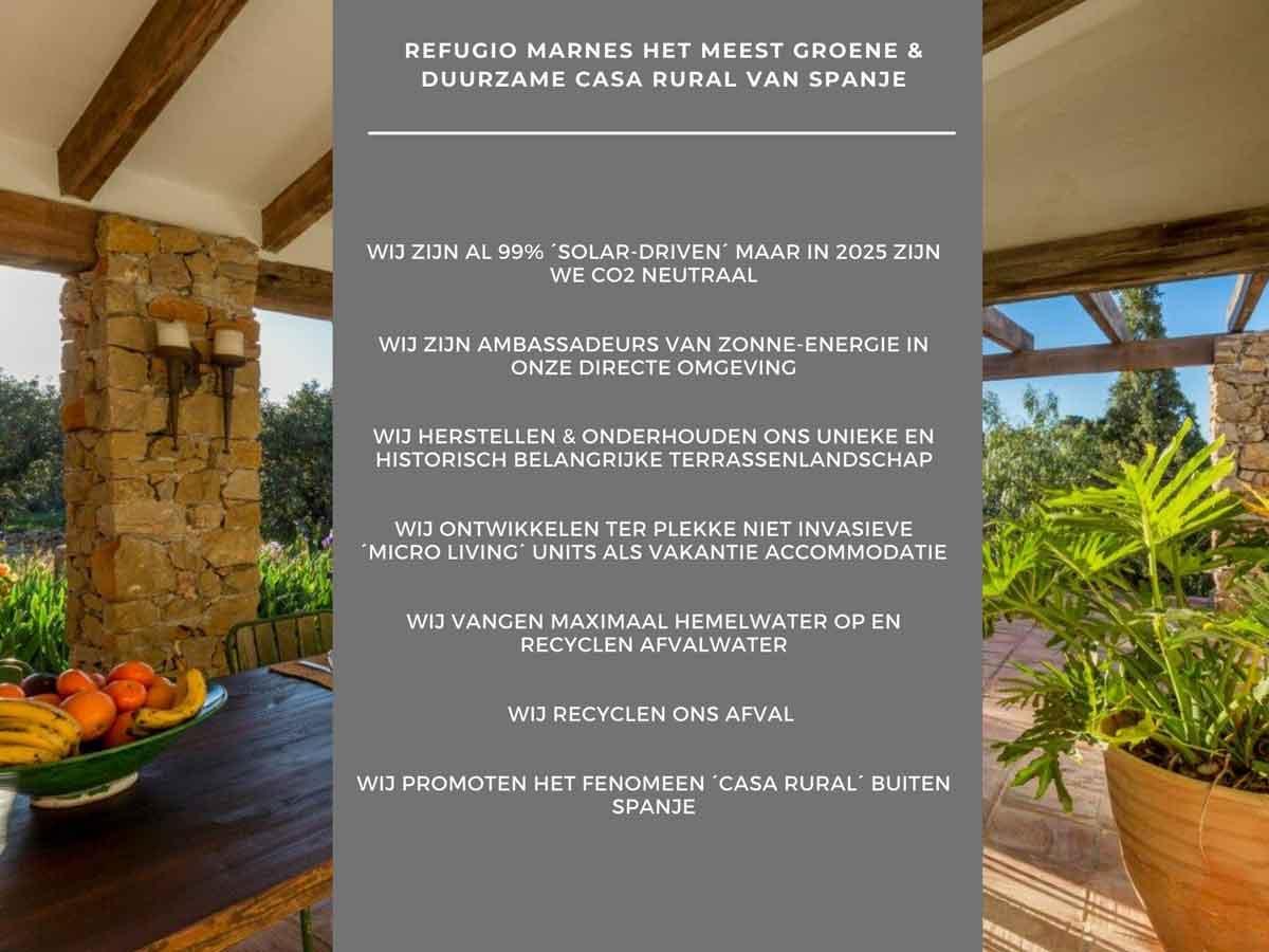 Een casa rural met een missie, Refugio Marnes