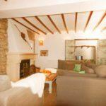 de woonkamer van Casa Grillo een landelijk gelegen vakantiehuis aan de Costa Blanca