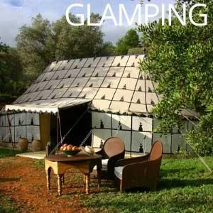 Glamping tent Spanje La Jaima